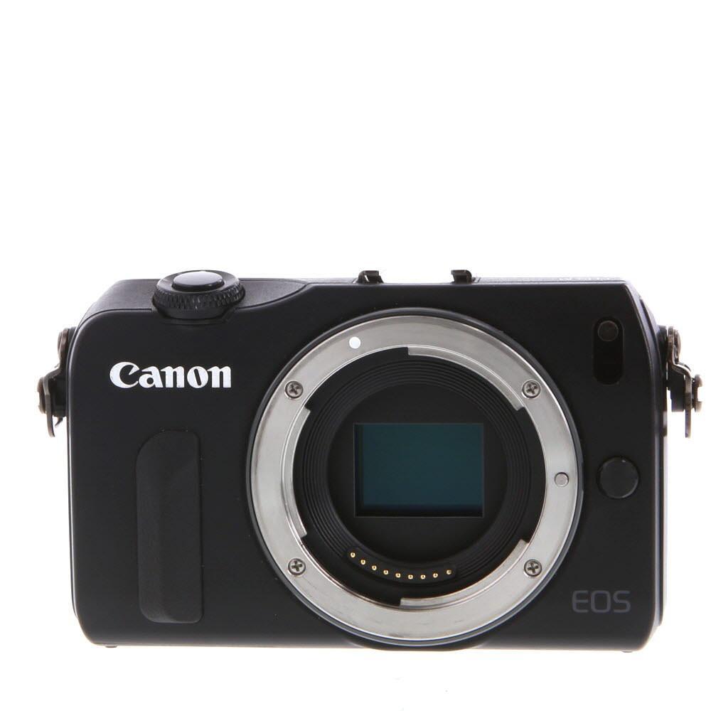 Canon EOS M Hybridný 18 - Čierna