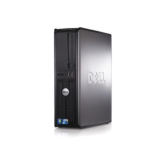 """Dell Optiplex 380 DT 17"""" Core 2 Duo 2,93 GHz - HDD 250 Go - 2 Go"""