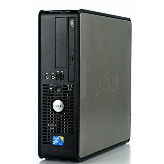 """Dell Optiplex 780 SFF 17"""" Core 2 Duo 3 GHz  - HDD 160 Go - 16 Go"""
