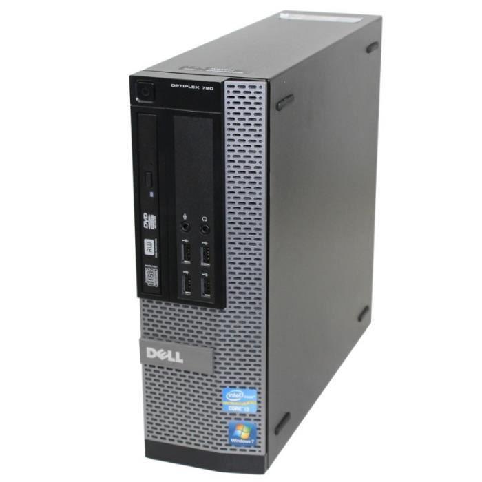 """Dell OptiPlex 790 SFF 22"""" Core i5 3,1 GHz - HDD 2 To - 4 Go"""