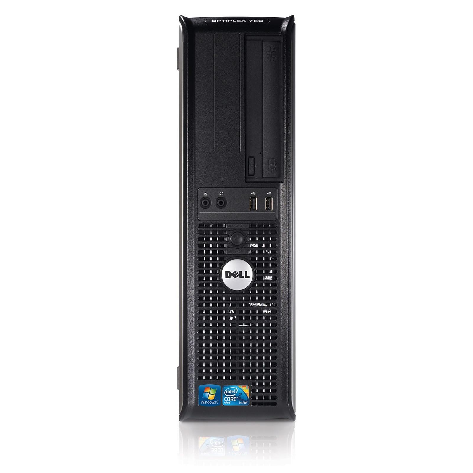 Dell OptiPlex 780 DT Core 2 Duo 3 GHz - HDD 2 To RAM 4 Go