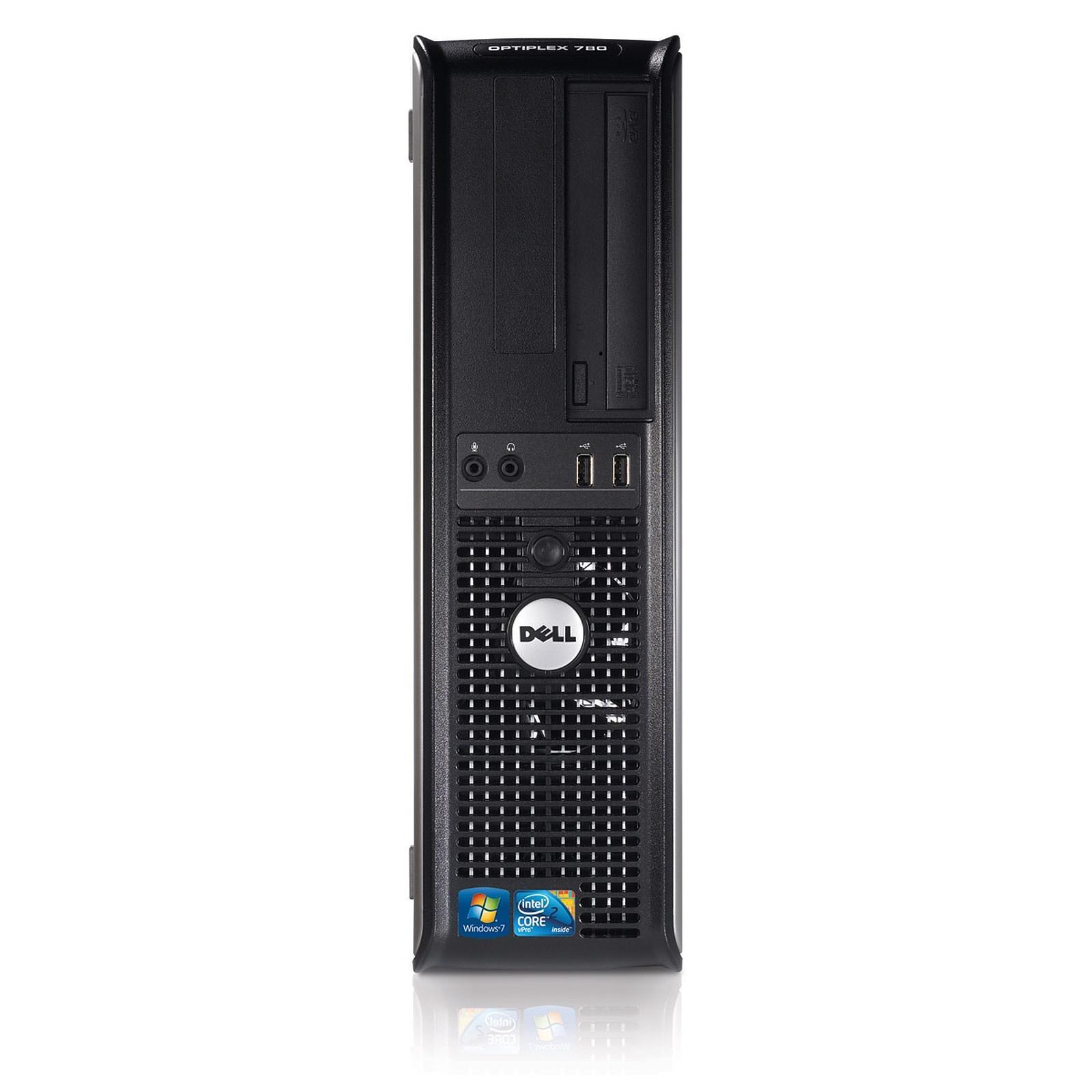 Dell Optiplex 780 DT Core 2 Duo 3 GHz - SSD 480 Go RAM 4 Go