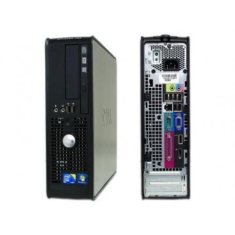 """Dell Optiplex 780 SFF 17"""" Core 2 Duo 3 GHz  - HDD 250 Go - 8 Go"""