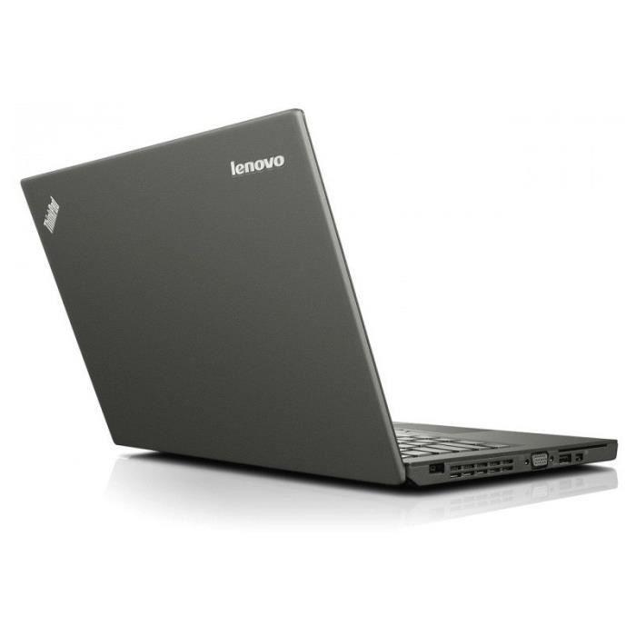Lenovo Thinkpad X250 12.5-inch (2015) - Core i5-5300U - 4GB - SSD 500 GB AZERTY - French