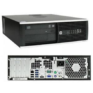 HP Compaq 6200 Pro SFF Core i5-3470 3,2 - HDD 480 GB - 4GB