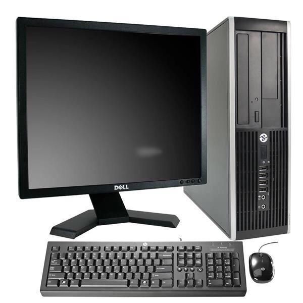 "Hp Compaq Elite 8200 SFF 22"" Pentium 2,7 GHz - HDD 250 GB - 8 GB"
