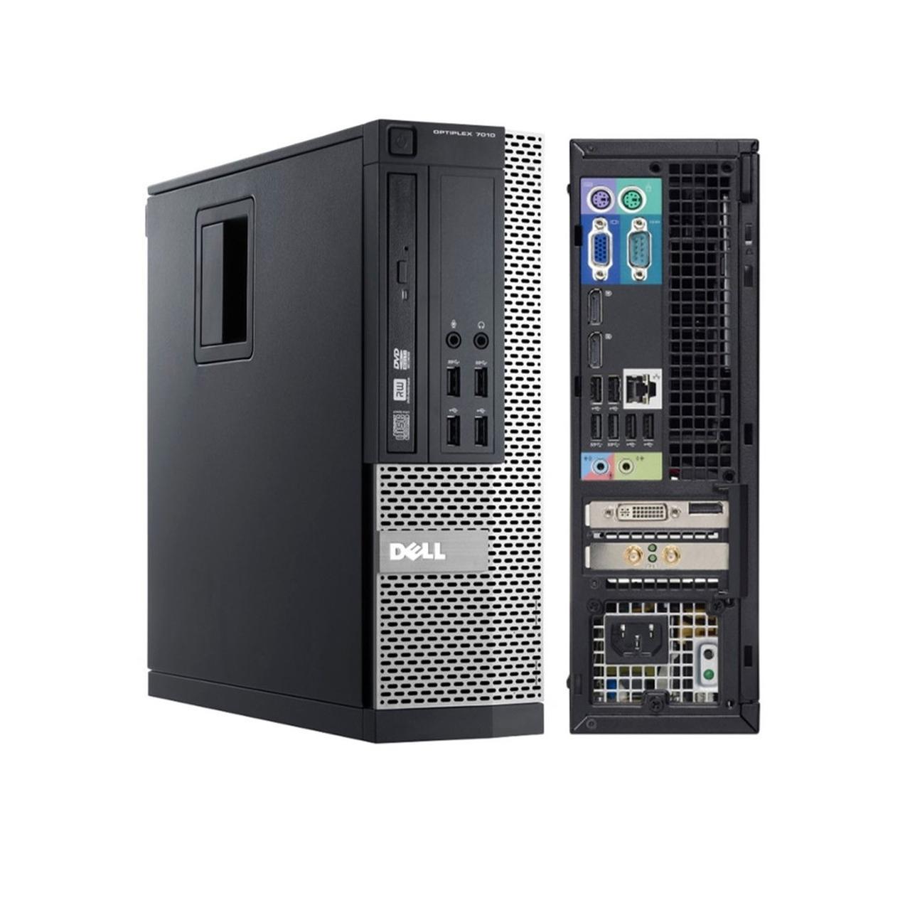 """Dell Optiplex 7010 SFF 27"""" Core I7-3770 3,4 GHz - SSD 480 GB - 8GB"""