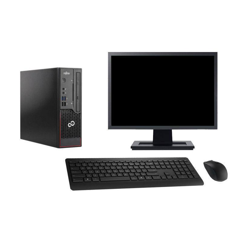 """Fujitsu Esprimo C720 SFF 19"""" Core i3 3,4 GHz - SSD 480 Go - 4 Go AZERTY"""