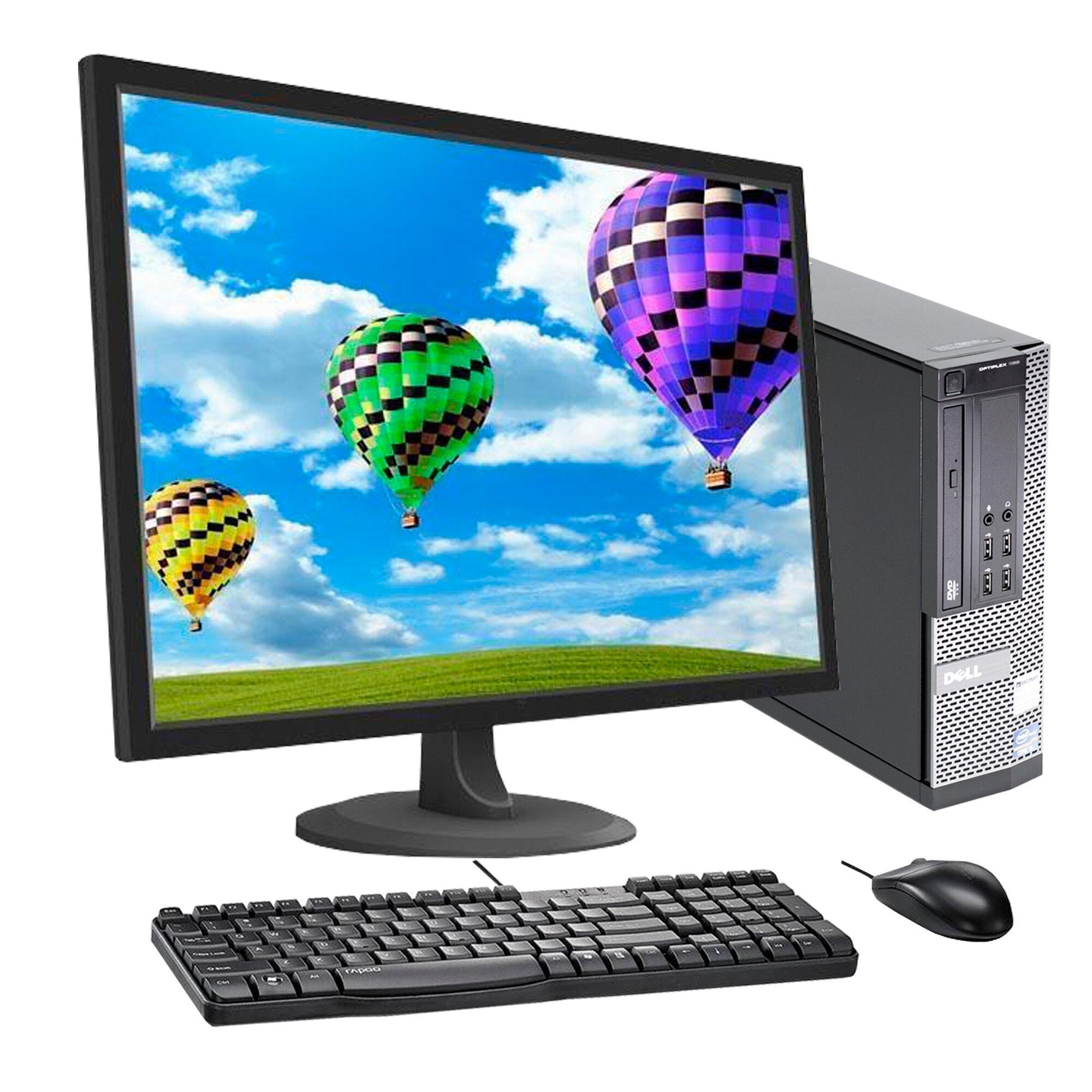 """Dell Optiplex 990 SFF 22"""" Core i3 3,3 GHz - SSD 240 Go - 16 Go"""