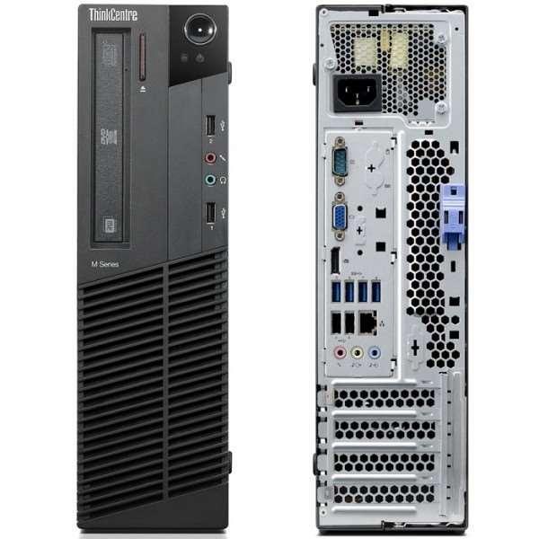 """Lenovo M91P 7005 SFF 19"""" Core i3-2100 3,1 GHz - HDD 2 TB - 16GB"""