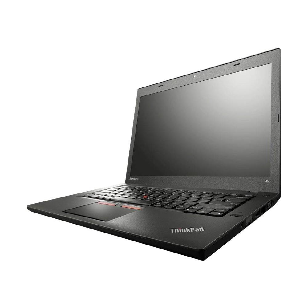 """Lenovo ThinkPad T450 14"""" Core i5 2,3 GHz - SSD 180 GB - 8GB AZERTY - Französisch"""