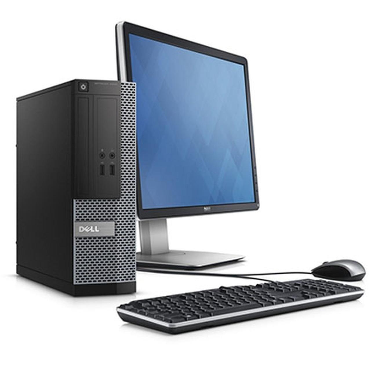 """Dell Optiplex 3020 SFF 22"""" Core I3 3,4 GHz - HDD 2 TB - 4GB AZERTY"""