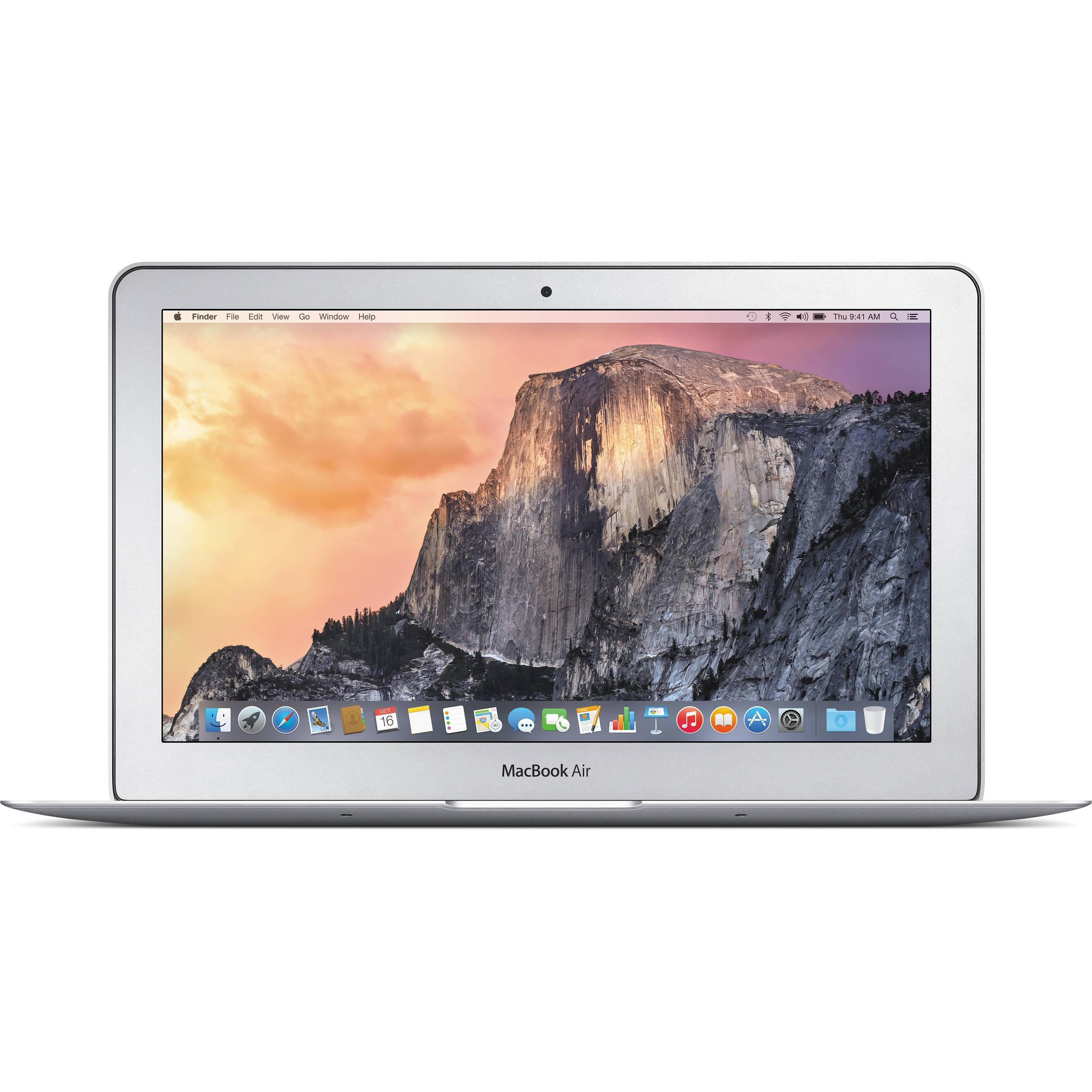 """MacBook Air 11"""" (2015) - Core i5 1,6 GHz - SSD 128 GB - 4GB - QWERTY - Spaans"""