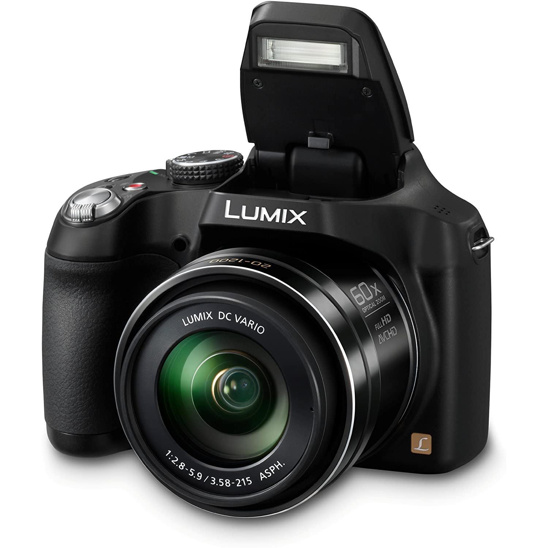 Panasonic Lumix DMC-FZ72 Bridge 16.1 - Čierna