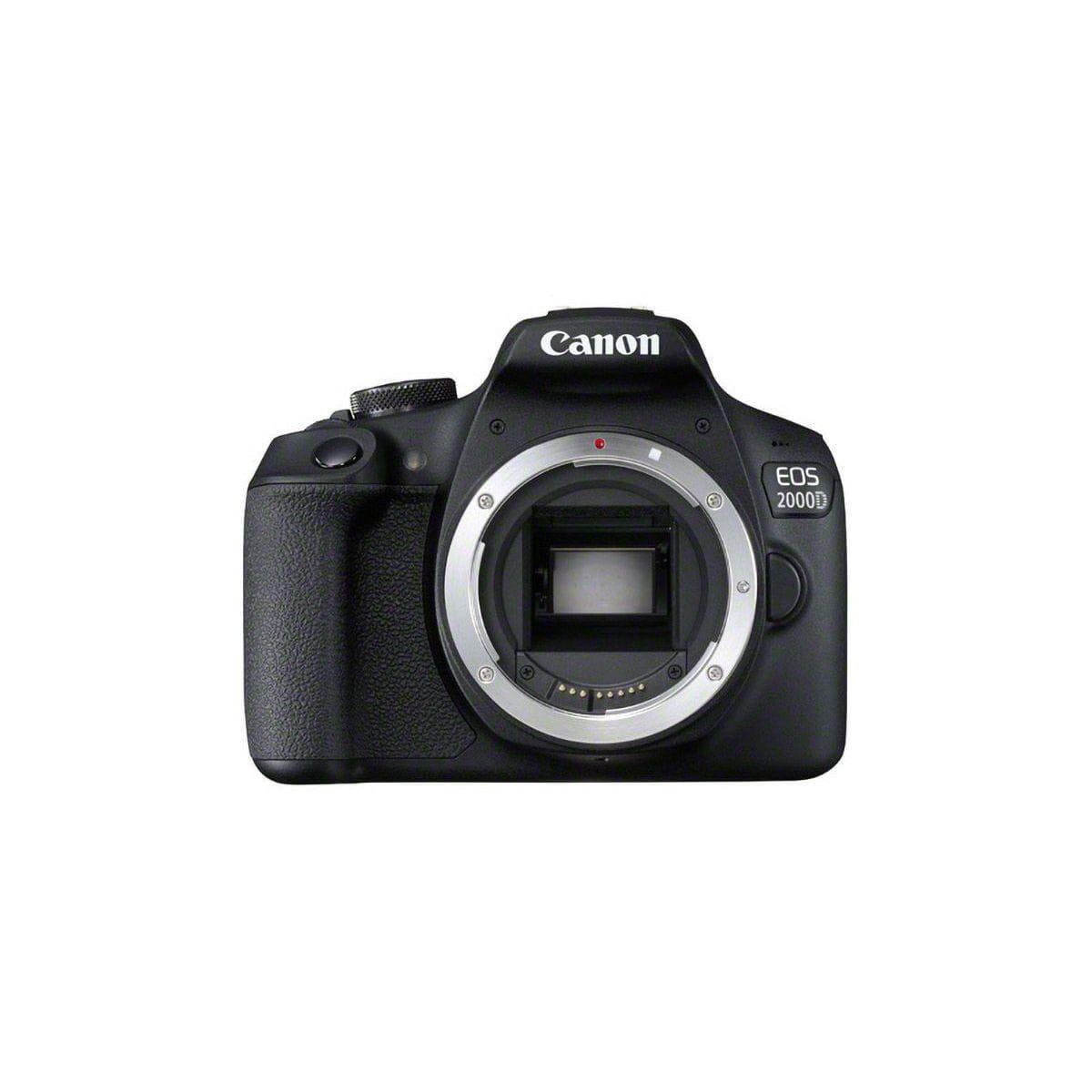 Reflex - Canon EOS 2000D Boitier Nu - Noir