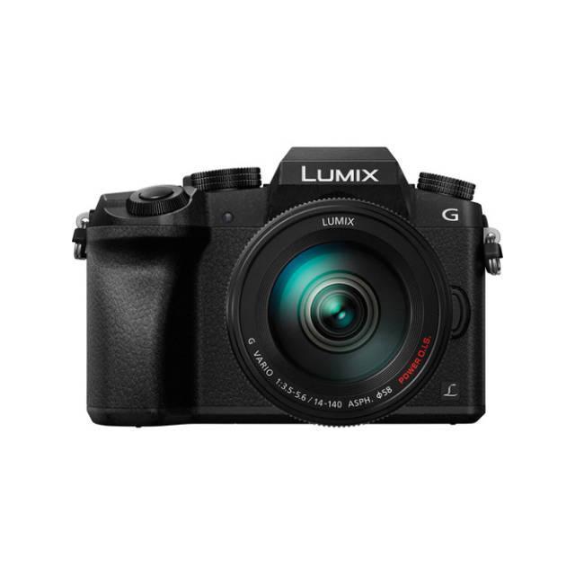 Panasonic Lumix DMC-G7 Hybridný 16 - Čierna