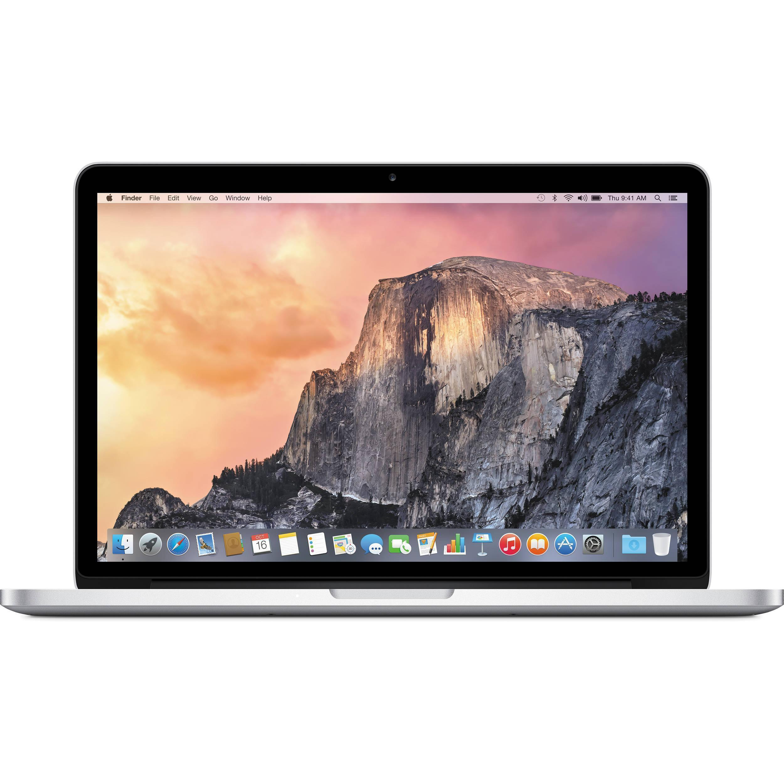 "MacBook Pro 13"" Retina (2014) - Core i5 2,6 GHz - SSD 128 GB - 8GB - QWERTZ - Saksa"