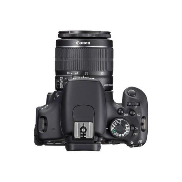Reflex Canon EOS 600D - Noir + Objectif Canon EF-S 18-55mm f/3.5-5.6 IS II