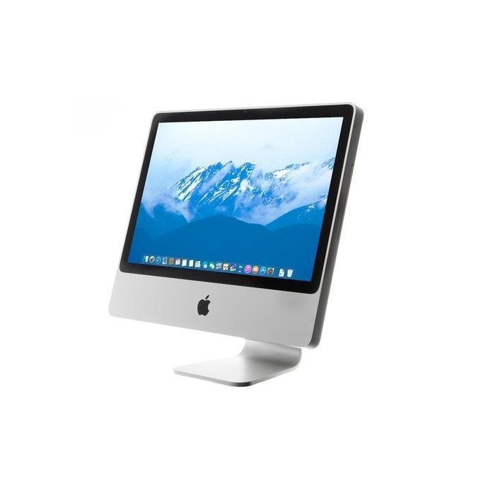 """iMac 20"""" (Mitte-2007) Core 2 Duo 2 GHz - HDD 250 GB - 4GB AZERTY - Französisch"""