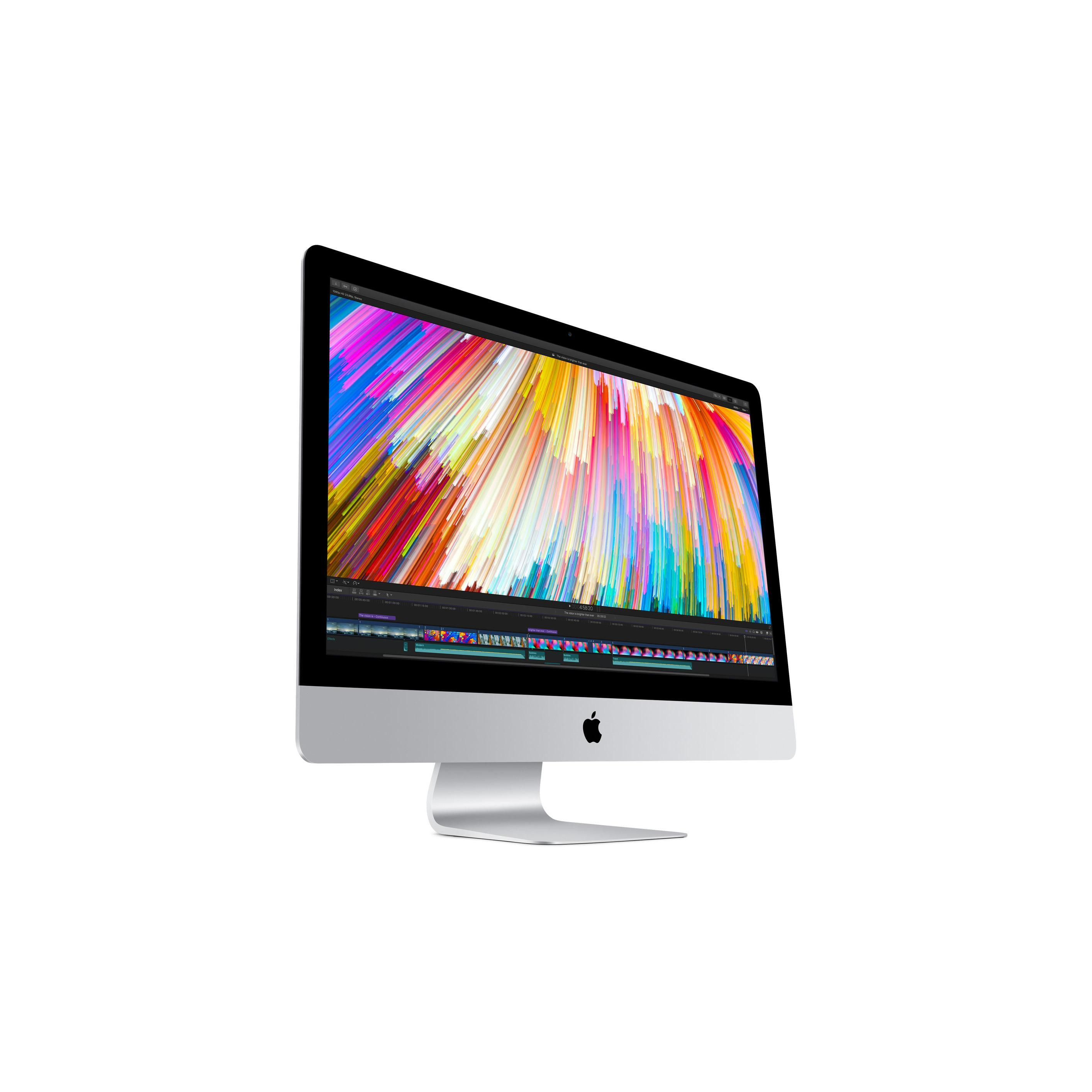 "iMac 27"" 5K (Ende 2015) Core i5 3,2 GHz  - SSD 30 GB + HDD 1 TB - 16GB AZERTY - Französisch"
