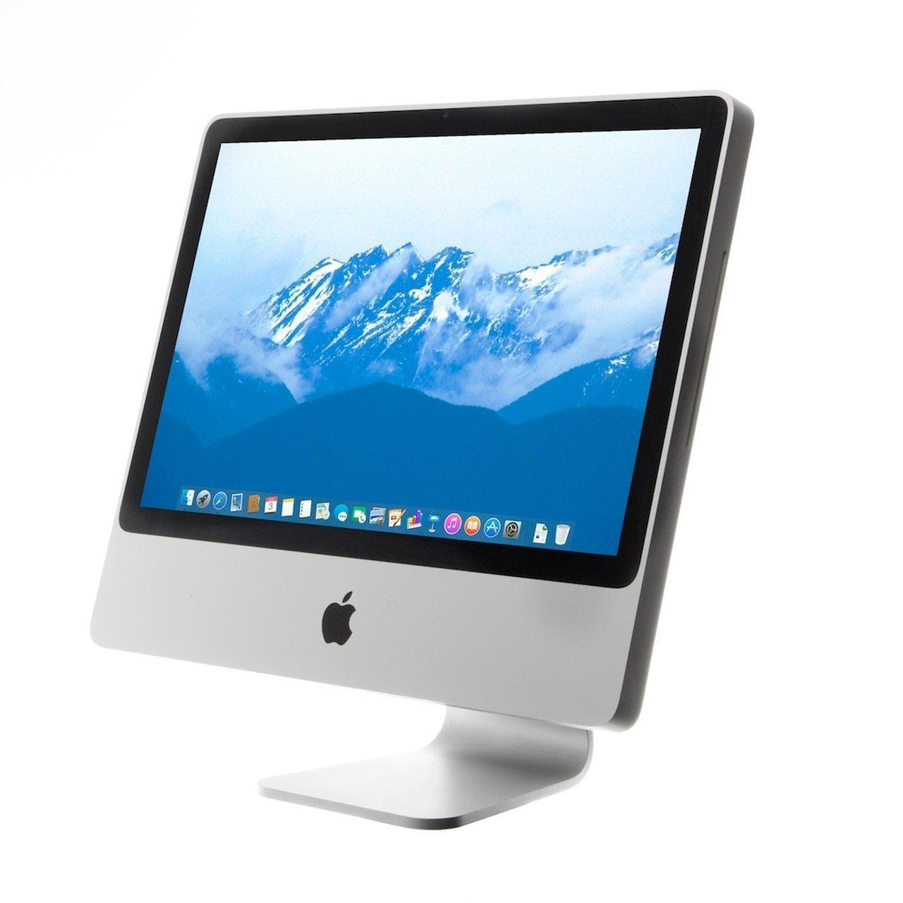 """iMac 24""""   (Anfang 2008) Core 2 Duo 2,8 GHz  - HDD 500 GB - 4GB AZERTY - Französisch"""