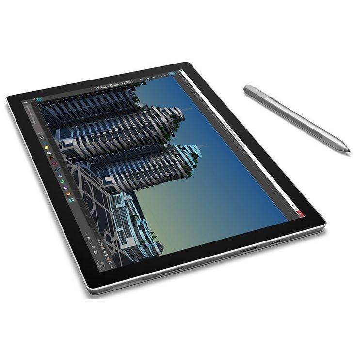 "Microsoft Surface Pro 4 12"" Core m3 0,9 GHz - SSD 128 GB - 4GB AZERTY - Französisch"