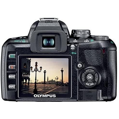 Reflex - Olympus E-410 Noir Olympus Olympus Digital M.Zuiko 14-42 Mm f/3.5-5.6 Ed + Olympus Digital M.Zuiko Ed 40-150 mm f/4.0-5.6 R