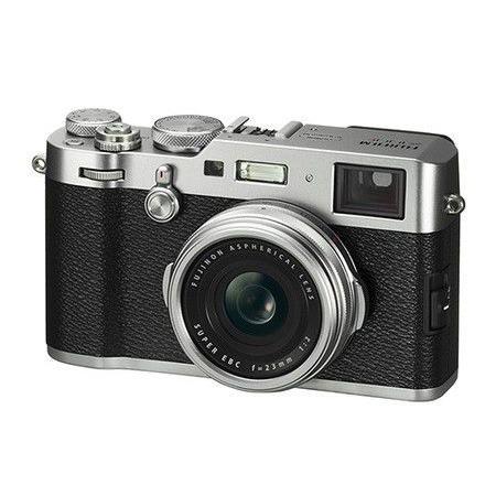 Fujifilm FinePix X100F Compact 24Mpx - Black/Silver