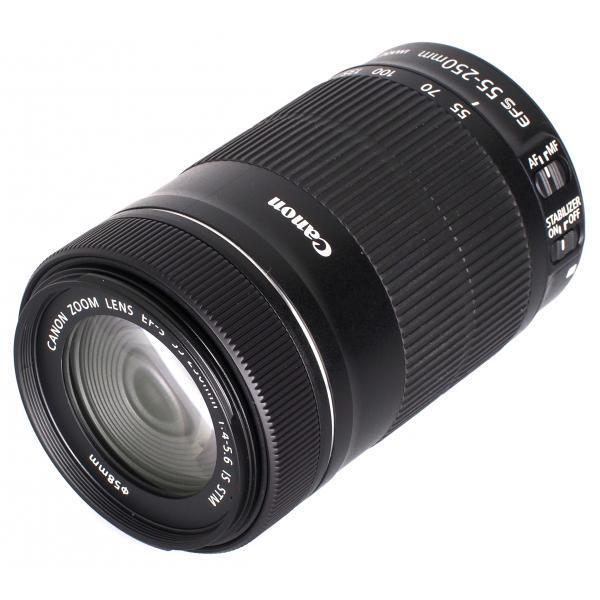 Objetivos EF-S 55-250mm f/4-5.6