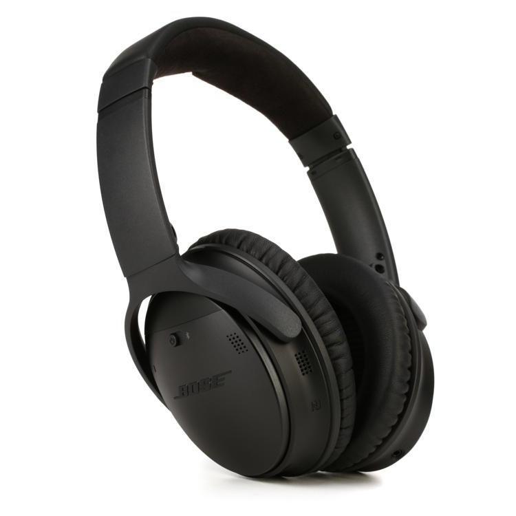 Casque Réducteur de Bruit Bluetooth avec Micro Bose QuietComfort 35 - Noir