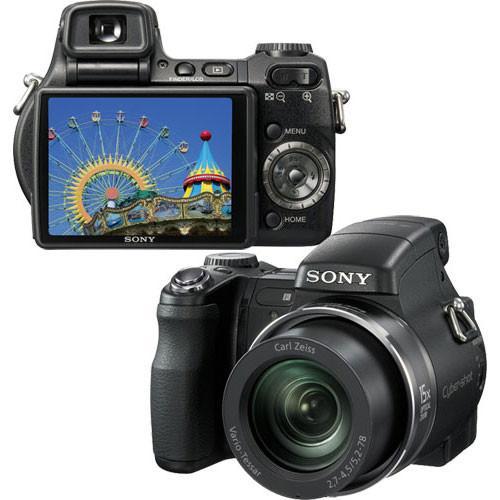 Sony Cyber-shot DSC-H9 Compact 8.1Mpx - Black