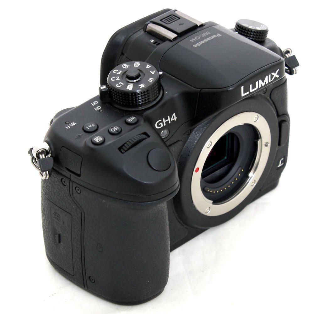 Panasonic Lumix DMC-GH4 Hybrid 16Mpx - Black