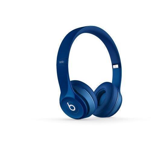 Solo 2 Wired Hoofdtelefoon - Microfoon Blauw