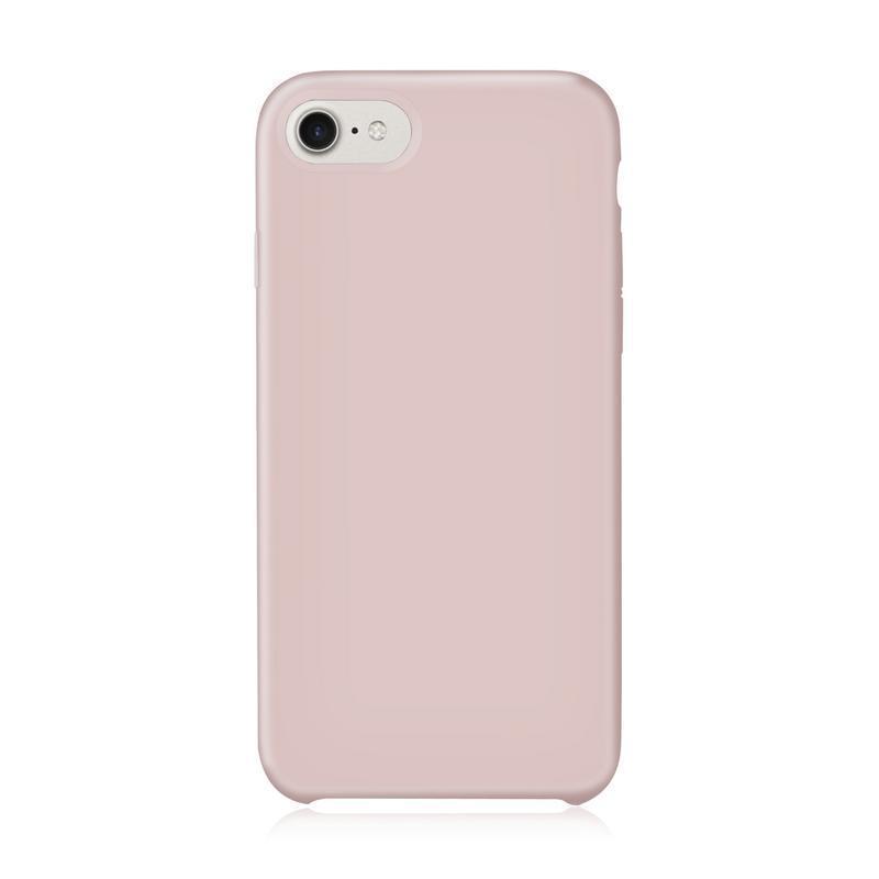 Coque iPhone 7 / iPhone 8 en Silicone Rose Pâle