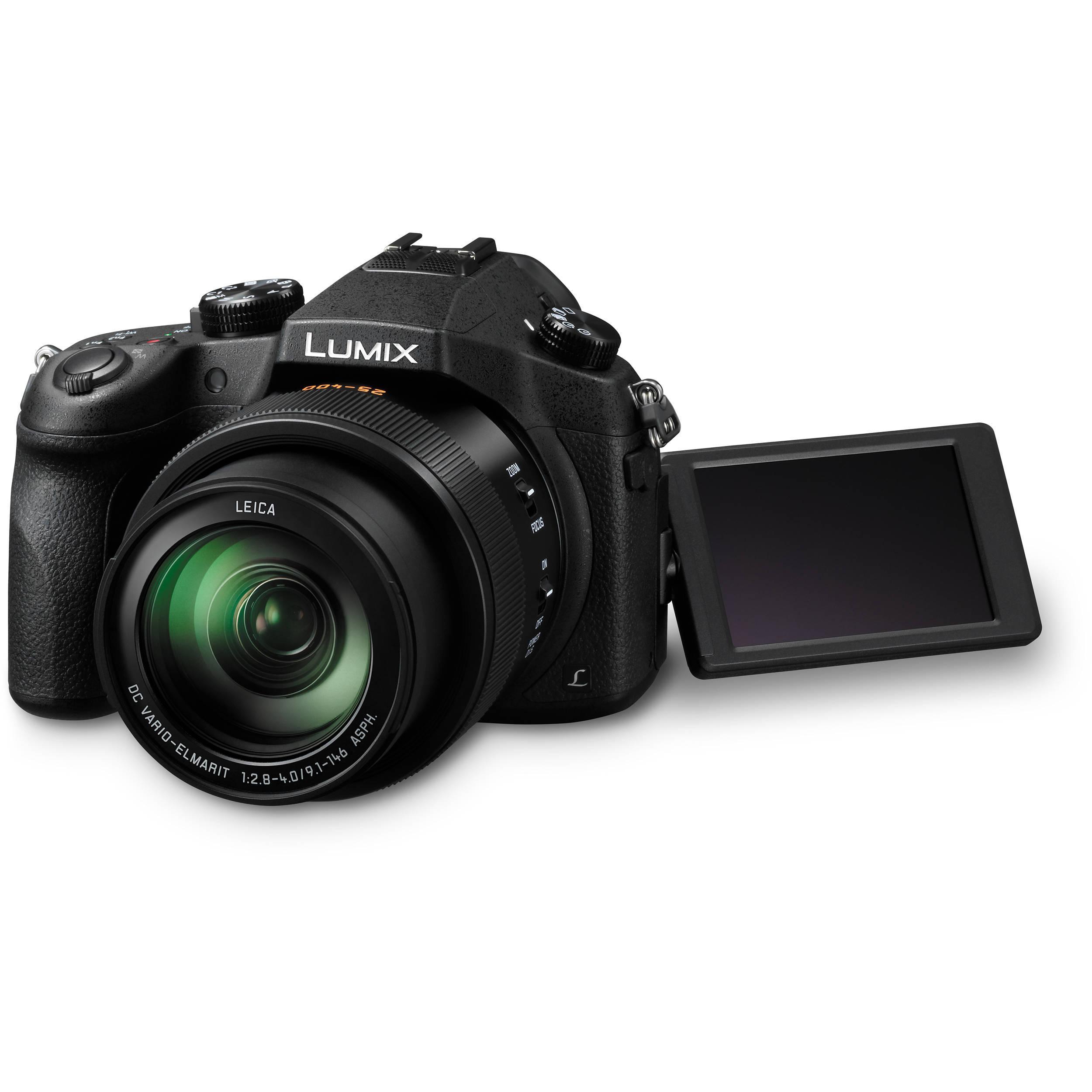 Panasonic Lumix DMC-FZ1000 Bridge 20 - Black