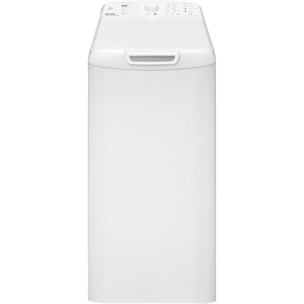 Lave-linge classique 40 cm Au dessus Vedette VT602B
