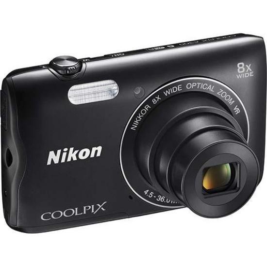 Kompakt - Nikon A300 - Schwarz