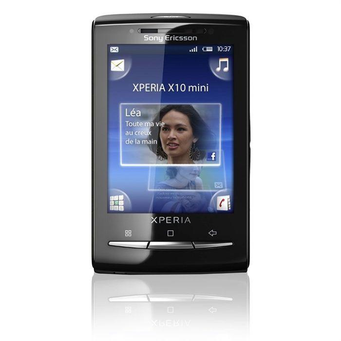 Sony Ericsson Xperia X10 mini - Musta- Lukitsematon