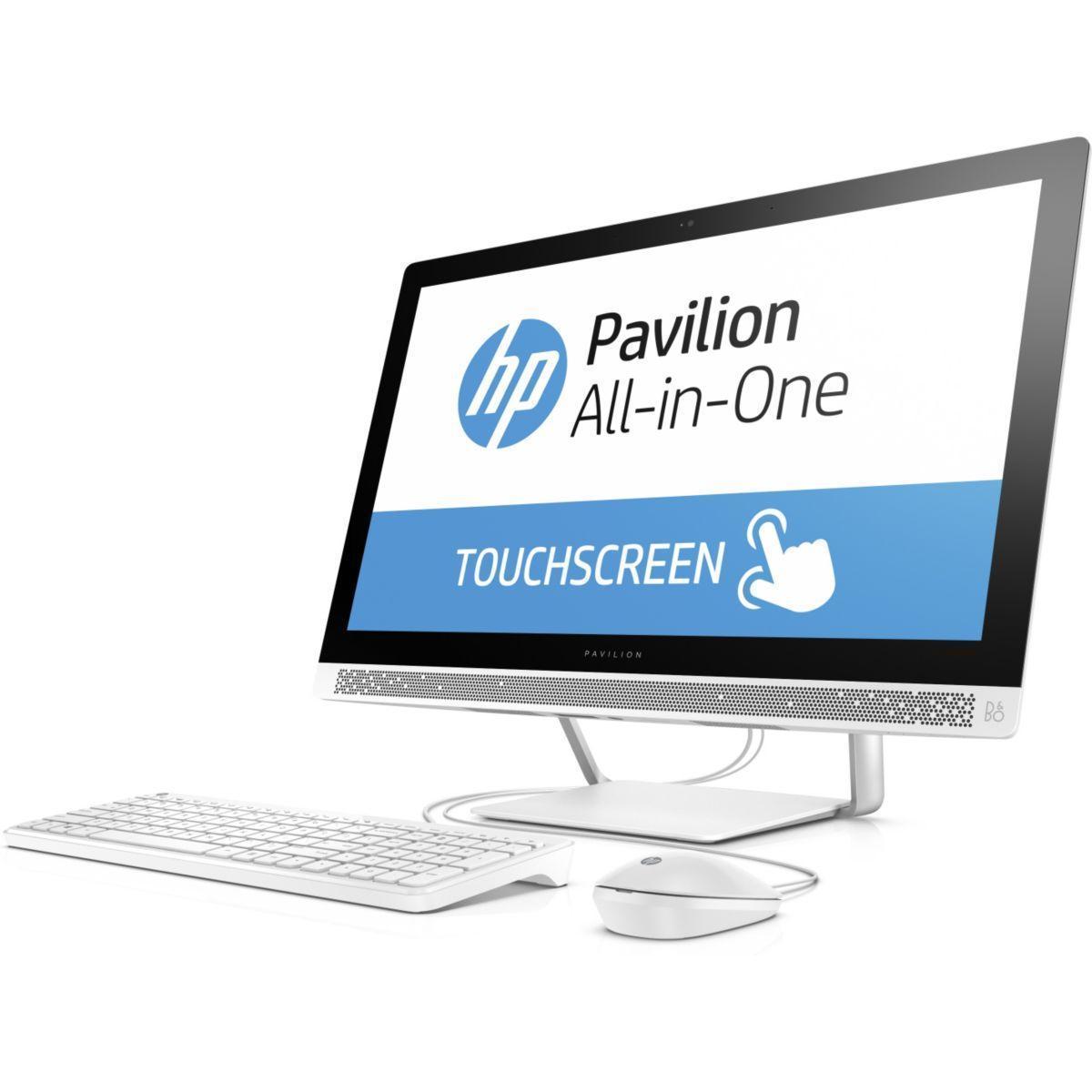 HP Pavilion 24-b111nf 23.8-inch Core i3 3.2 GHz  - HDD 1 TB - 4GB