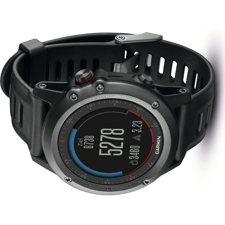Smart Watch Cardiofrequenzimetro GPS Garmin Fenix 3 - Nero