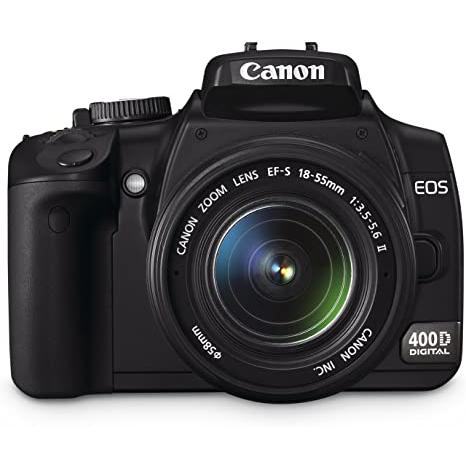 Cámara Reflex - Canon EOS 400D + Objetivo 18-55mm EF-S