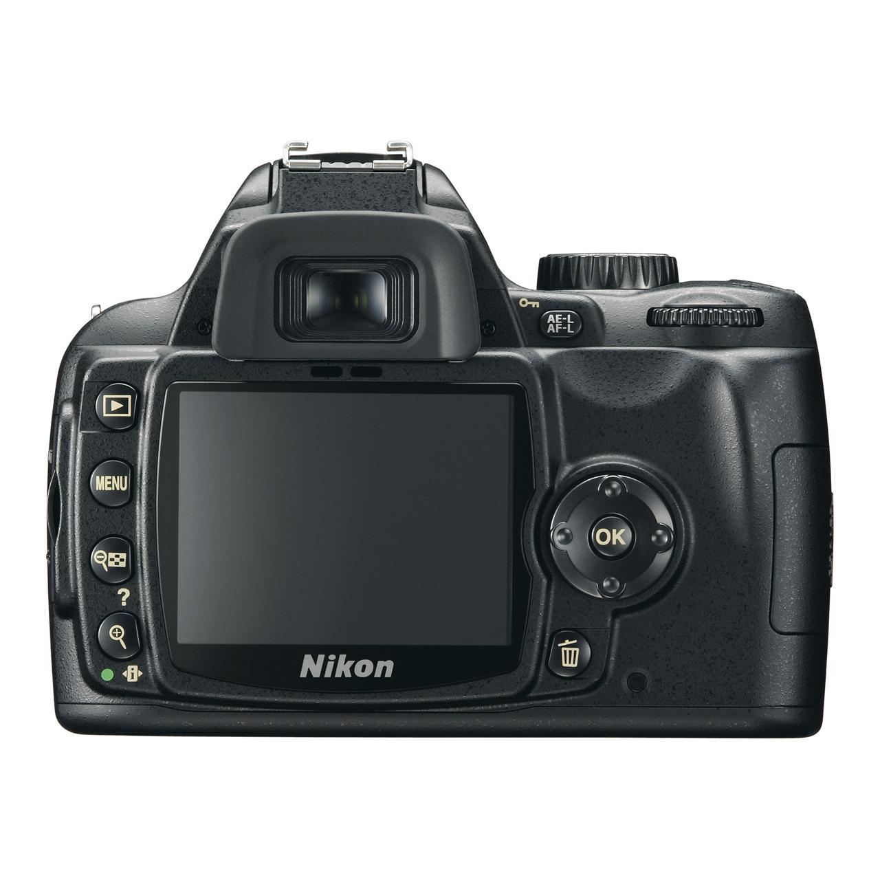 Nikon D60 Reflex 10Mpx - Black