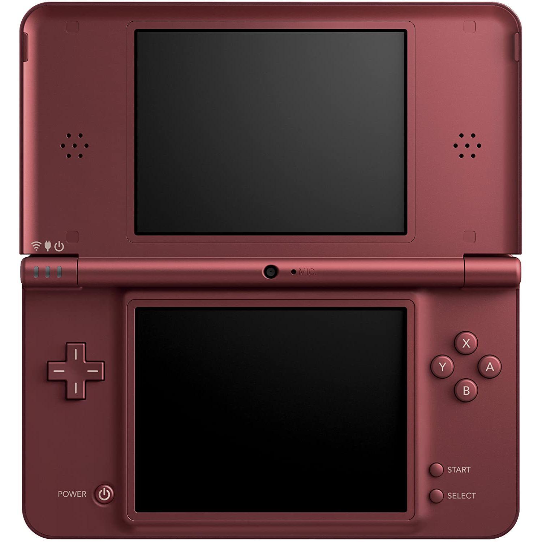 Nintendo DSI XL - HDD 0 MB - Burgunderrot