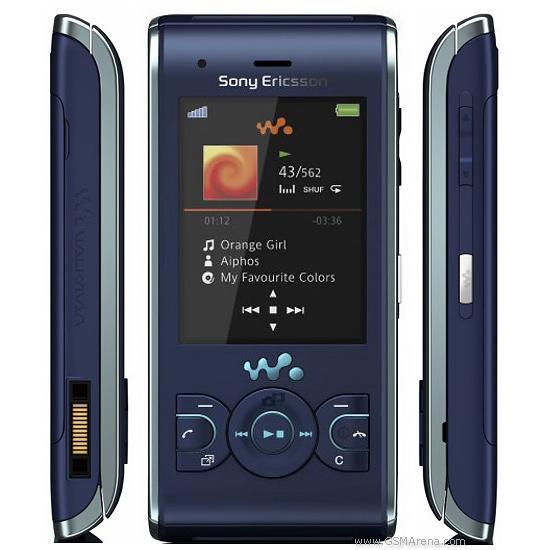 Sony Ericsson W595 - Blau- Ohne Vertrag