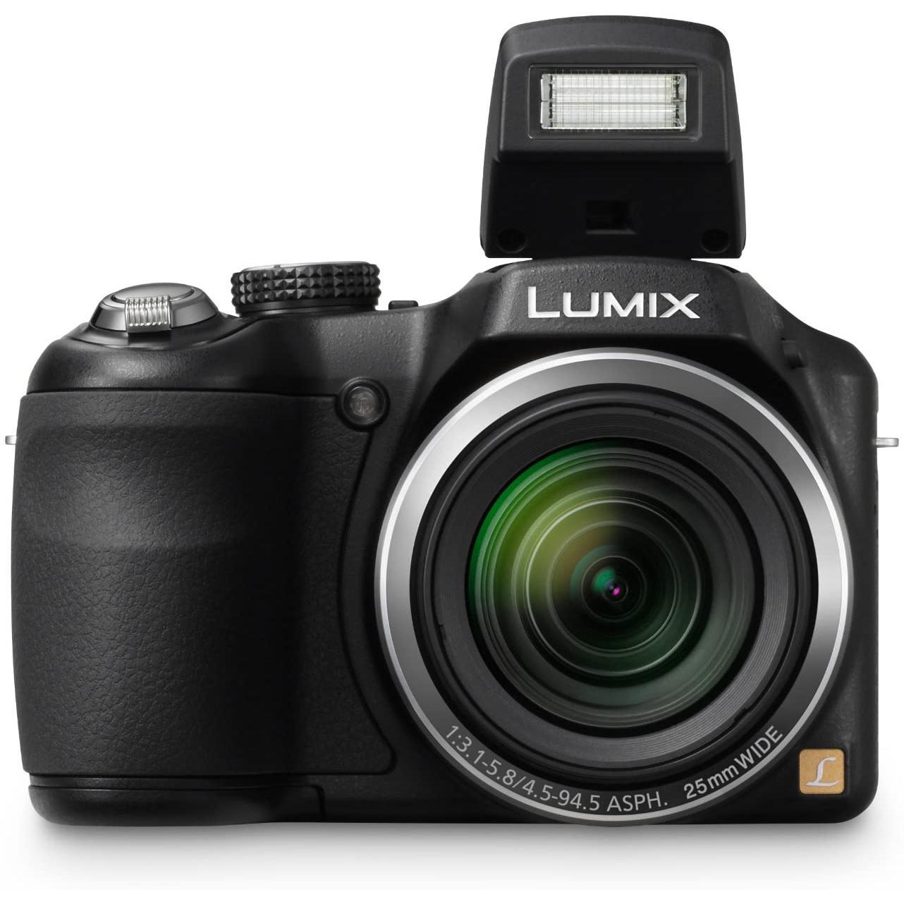 Panasonic Lumix DMC-LZ20 Bridge 16Mpx - Black