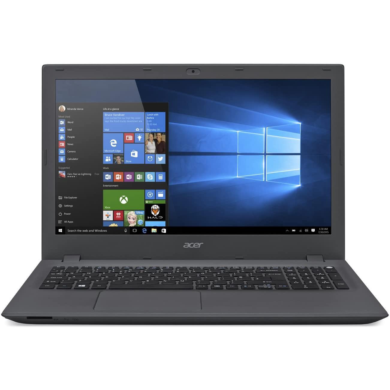 """Acer Aspire E5-573G-394Z 15"""" Core i3 2 GHz - HDD 1 To - 4 Go AZERTY - Français"""