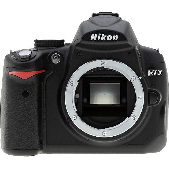Nikon D5000 Reflex 12Mpx - Black