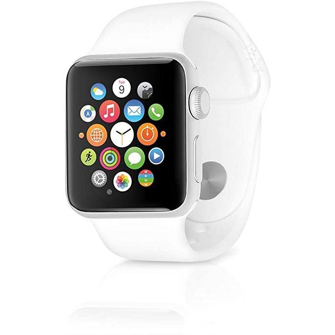 Apple Watch (Series 1) 2015 42 - Rostfritt stål Silver - Sport-loop