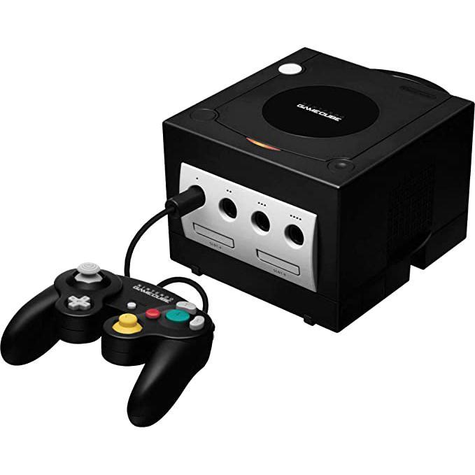 Nintendo GameCube - HDD 0 MB - Svart