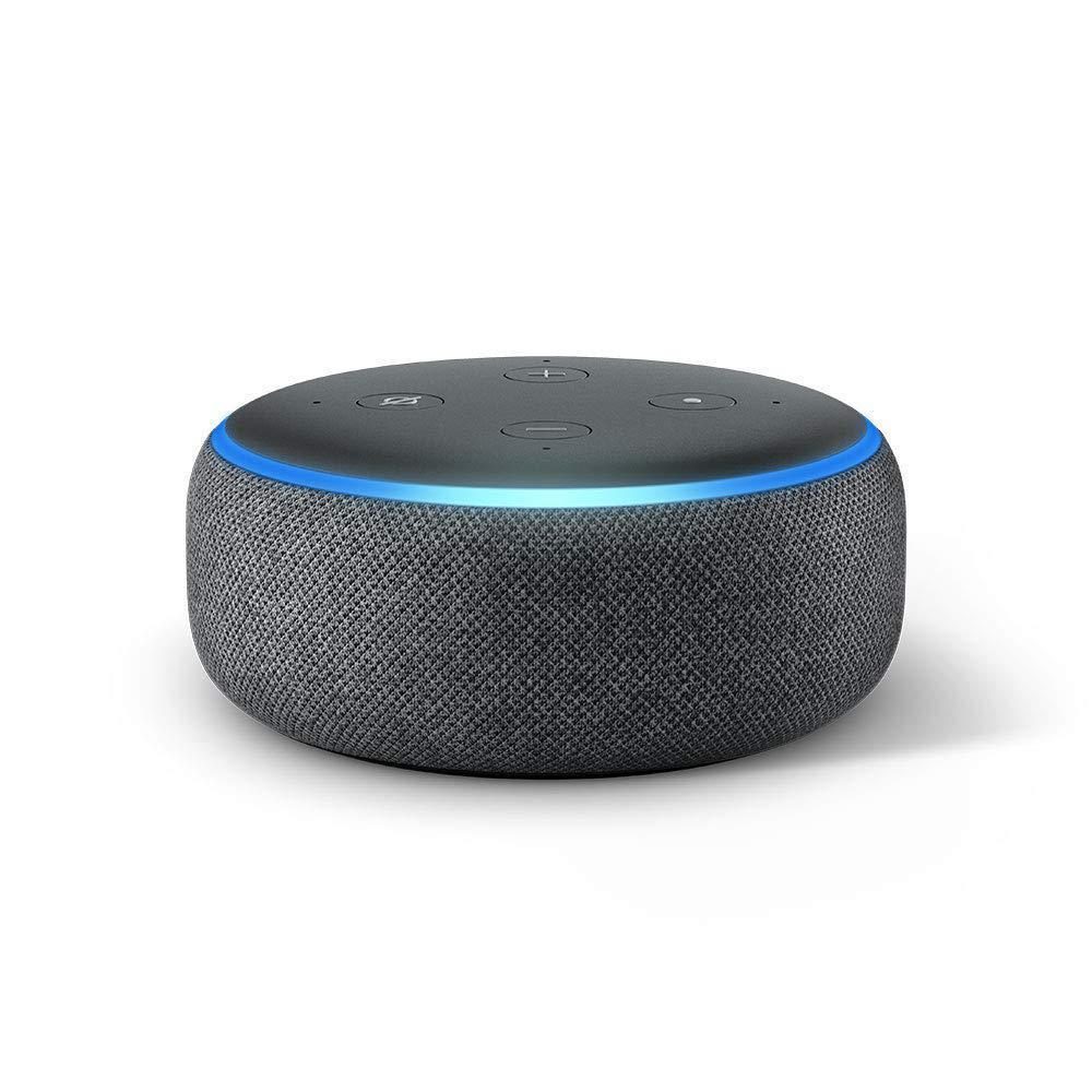 Enceinte  Bluetooth Amazon Echo Dot (3ème génération) - Noir/Bleu